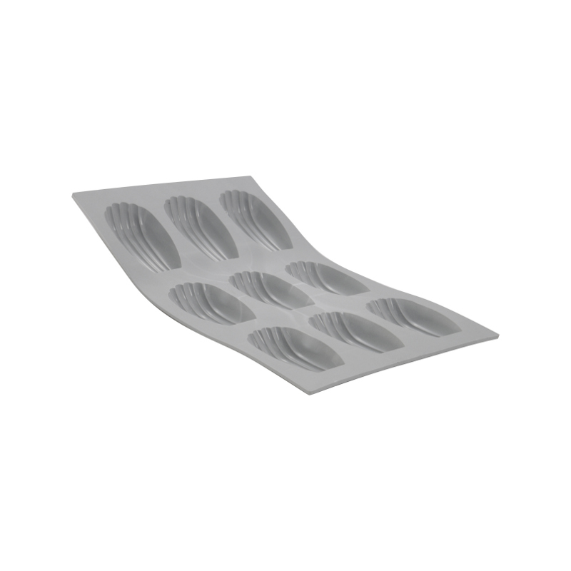 Silikonová forma - madlenka 4×3×1,1 cm