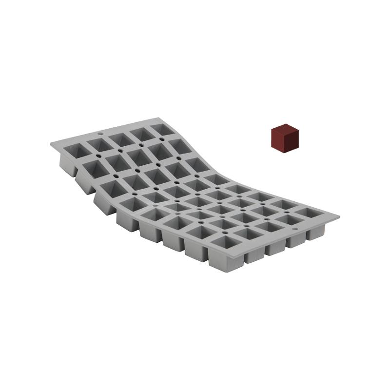 Silikonová forma - mini kostka 2,5×2,5×2,5 cm