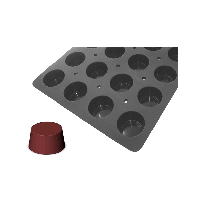 Silikonová forma - muffin 7×4 cm