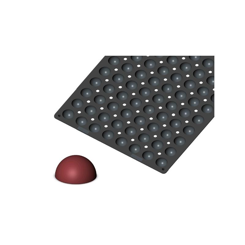 Silikonová forma - polokoule 3,5 cm