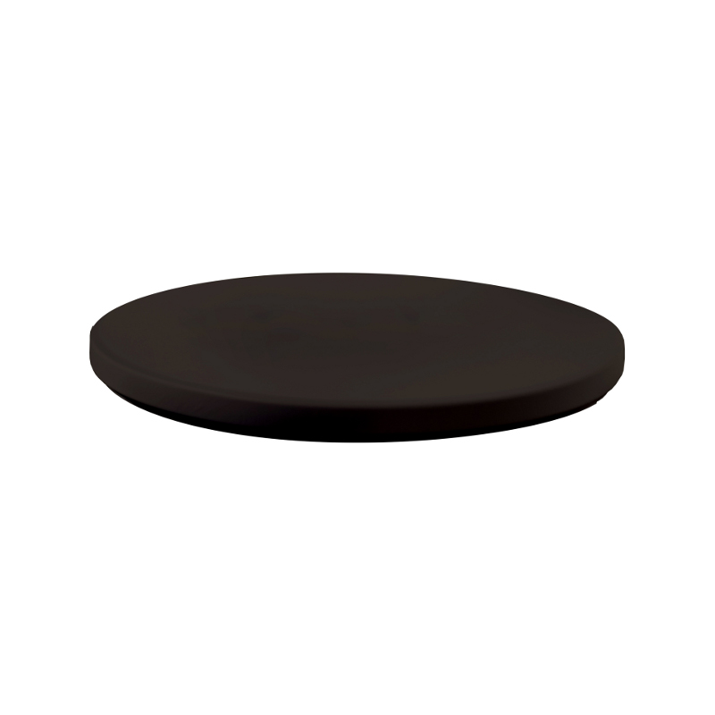 Top potah pro koktejlové stoly - černá