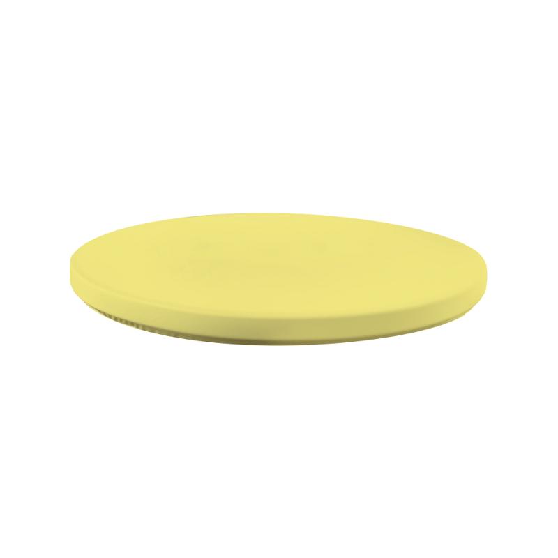 Top potah pro koktejlové stoly - žlutá
