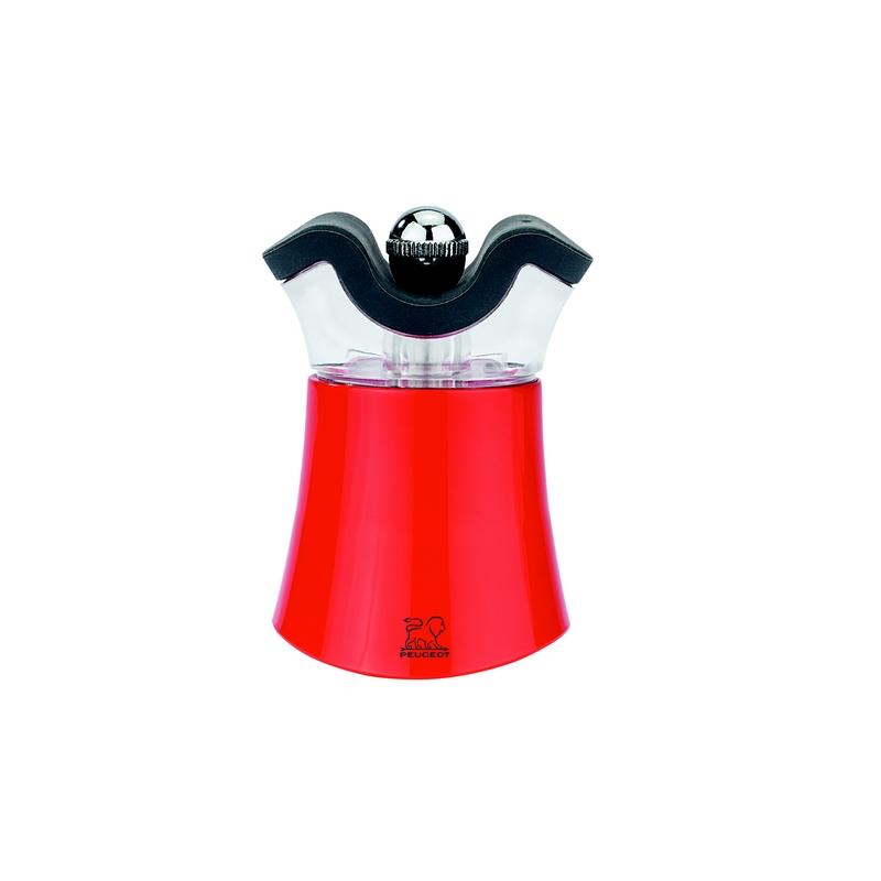 Peps mlýnek akrylový 8 cm - červená