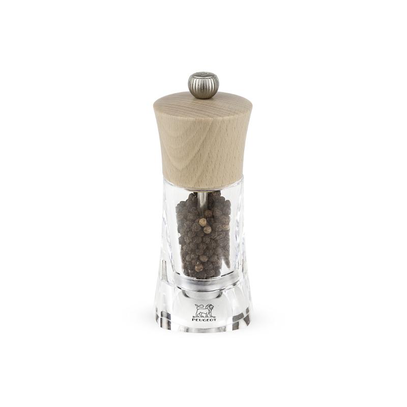 Molene mlýnek na pepř 14 cm - buk, akryl