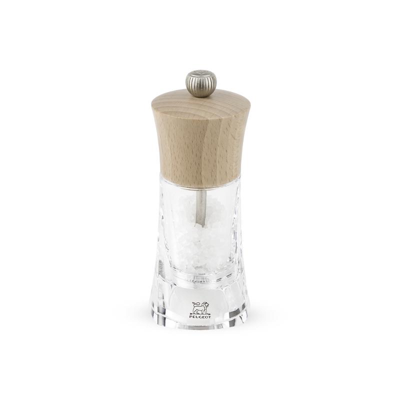 Molene mlýnek na sůl 14 cm - buk, akryl