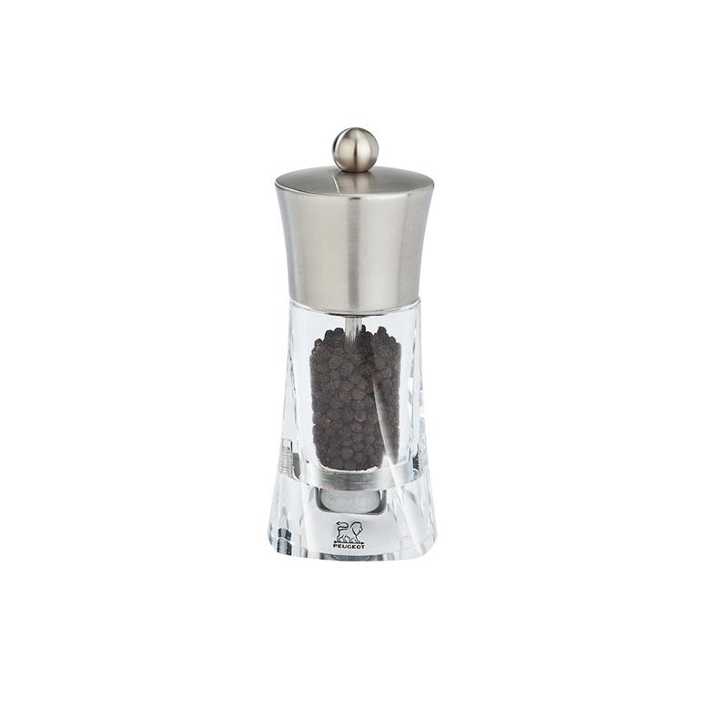 Ouessant mlýnek na pepř 14 cm - nerez, akryl