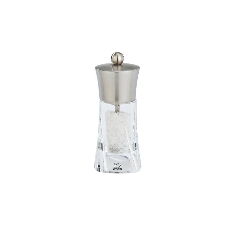 Ouessant mlýnek na sůl 14 cm - nerez, akryl