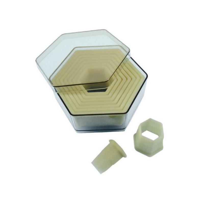 Sada vykrajovátek - šestiúhelník