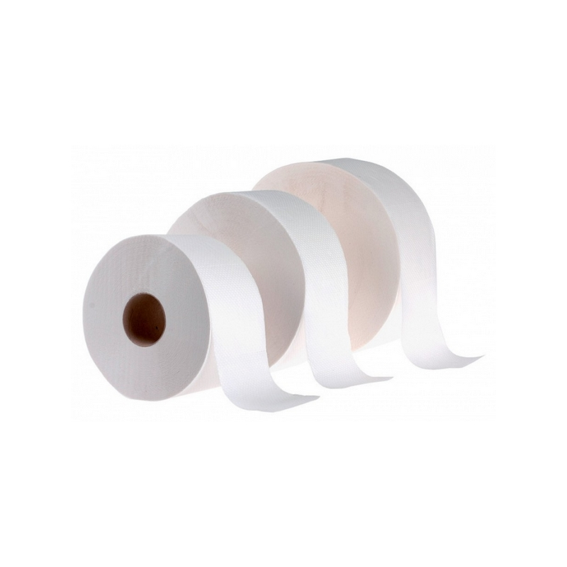 Toaletní papír JUMBO 190 2-vrstvá celulóza.