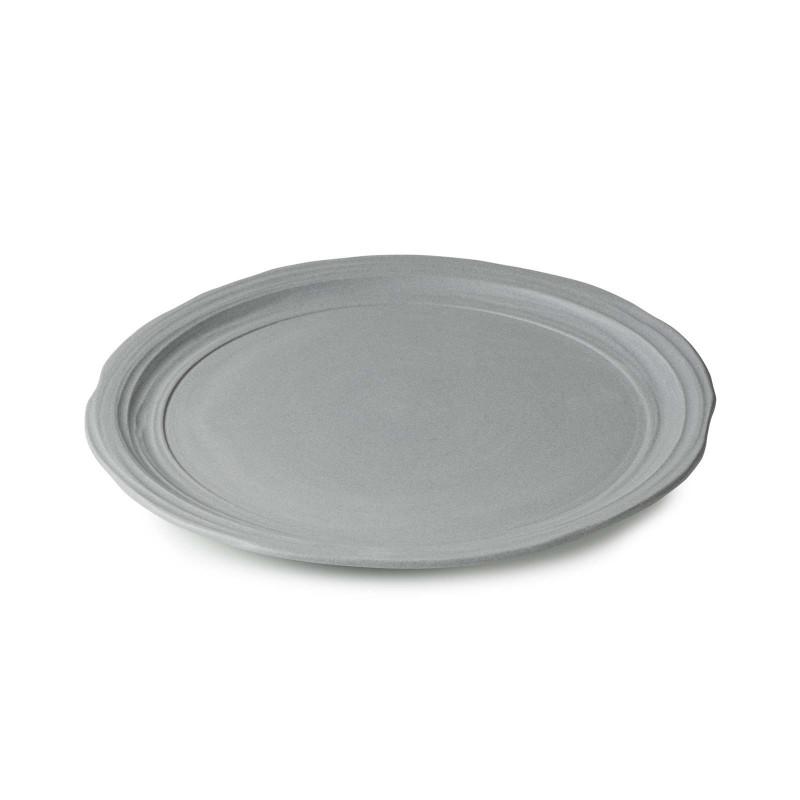Talíř jídelní 28,5 cm - šedý