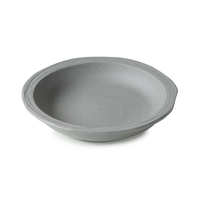Talíř hluboký 21 cm - šedý