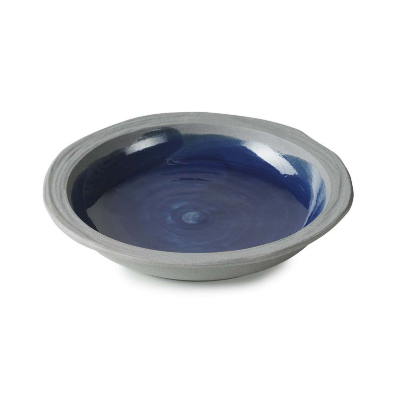 Talíř hluboký 21 cm - modrý