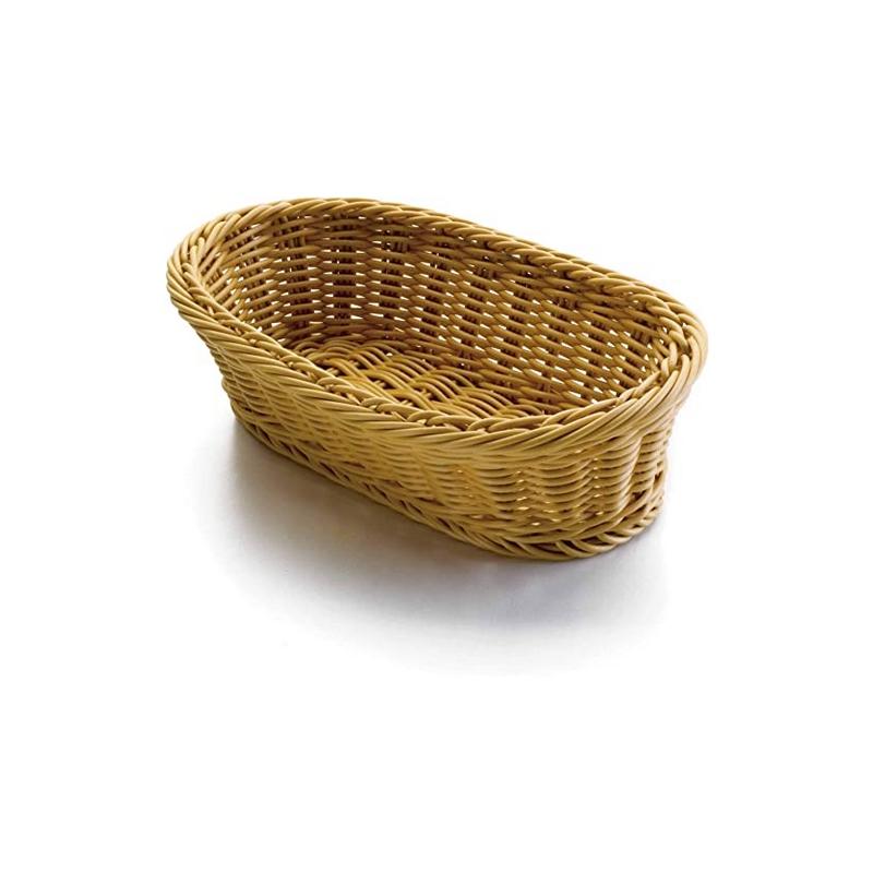 Košík na pečivo polypropylen - oválný 28 x 18 cm
