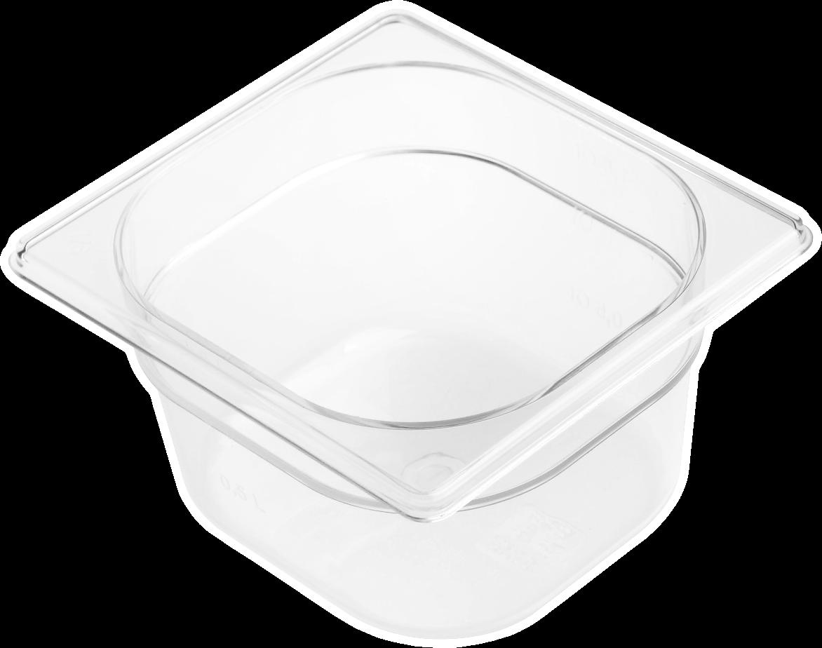Gastronádoba polykarbonátová GN 1/6 200