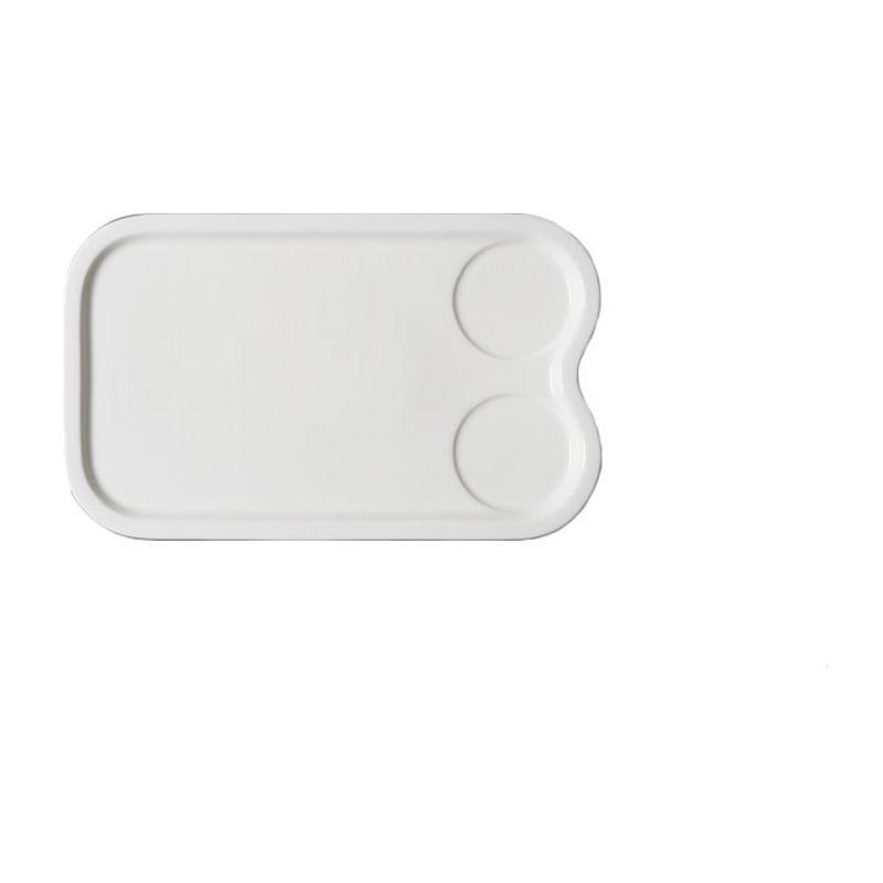 Allspice & Massilia talíř obdélný 33×22 cm