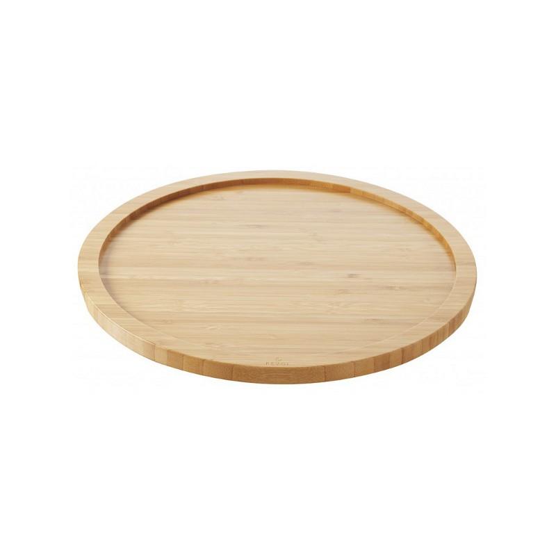 Podnos bambusový pro talíř kulatý s drážkou 30 cm (REV-647911)