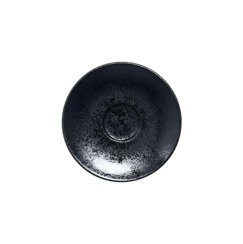 Podšálek pro šálek KR116CU08 13 cm - černá