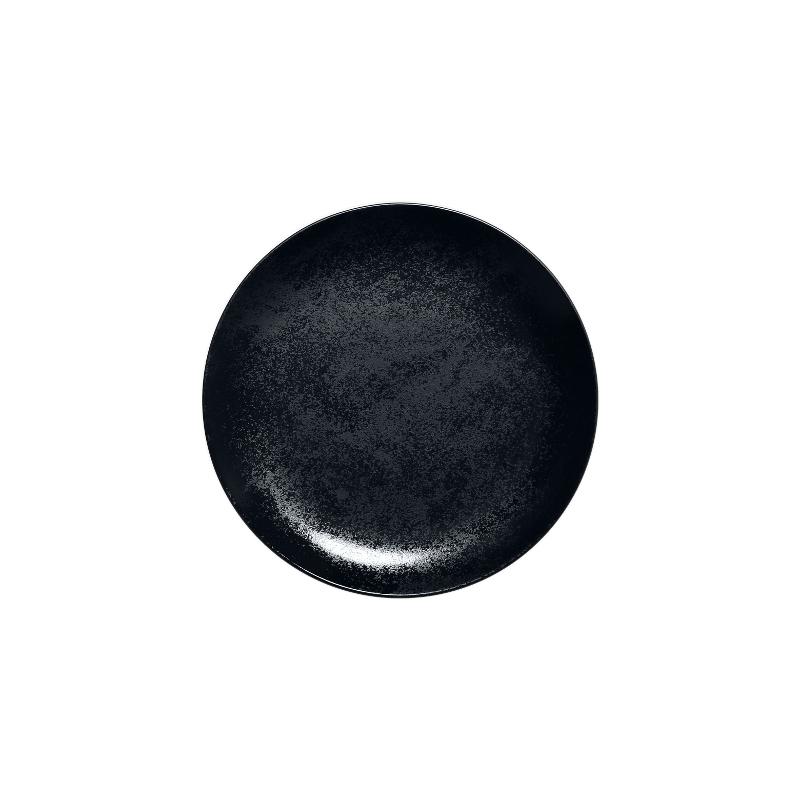 Talíř mělký dezertní 15 cm - černý