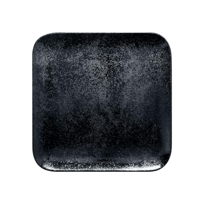 Talíř čtvercový 24 x 24 cm - černá