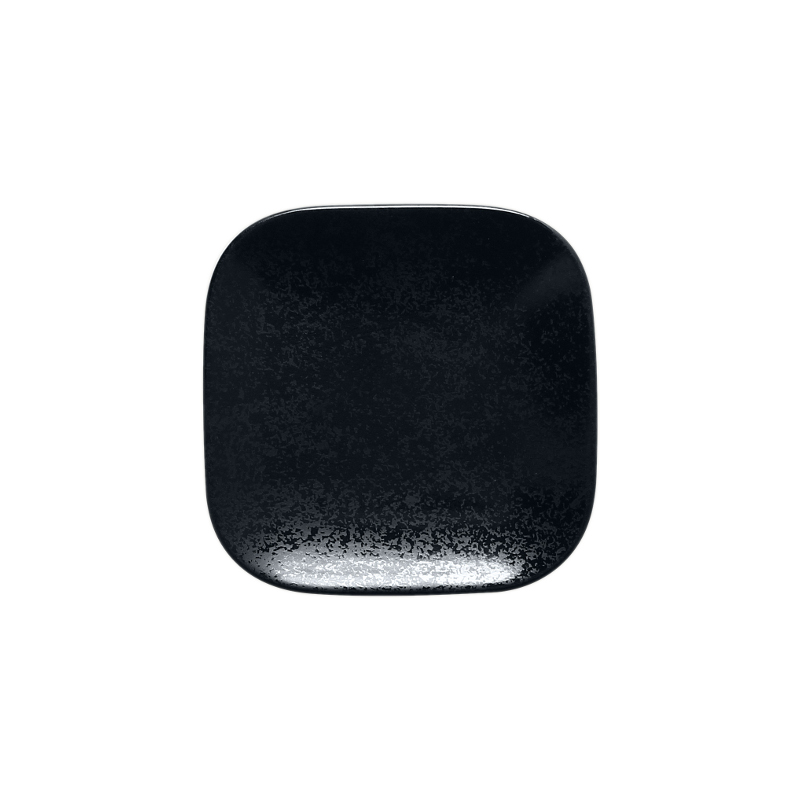 Talíř čtvercový 11 x 11 cm - černá