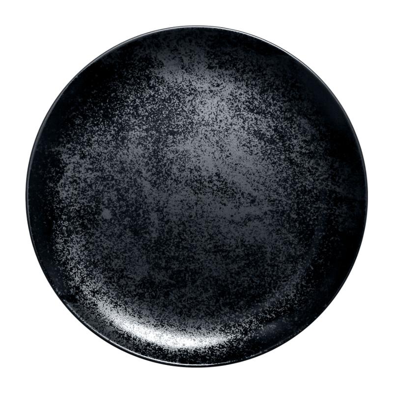 Karbon talíř mělký 31 cm - černý