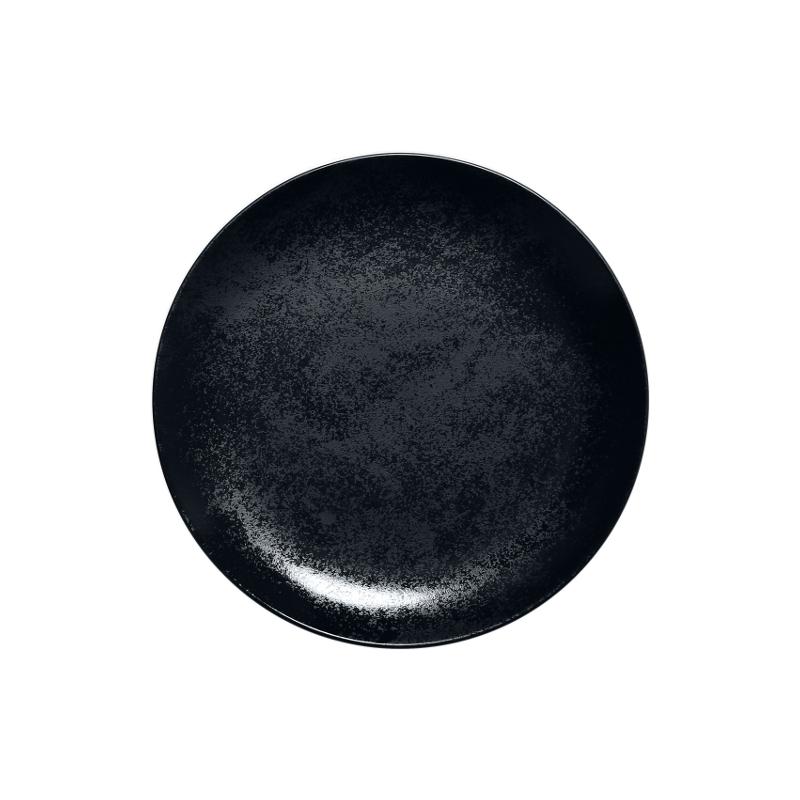 Talíř mělký 21 cm - černý