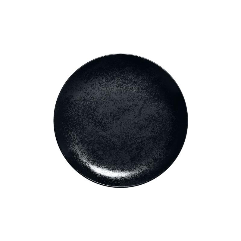 Talíř mělký dezertní 18 cm - černý