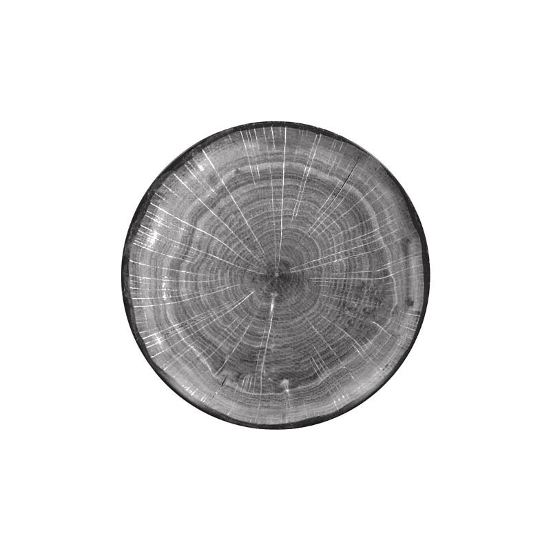 Talíř dezertní coupe 15 cm - šedá