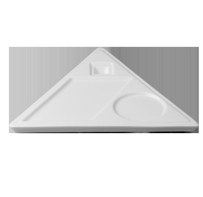 Triangular talíř s 3 oddíly Minimax