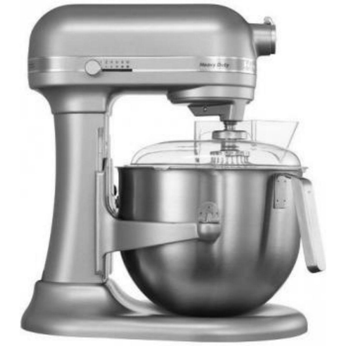 Kuchyňský robot s mísou 6,9 l stříbrný