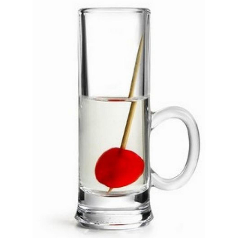 ISLANDE sklenička 5,5 cl, s ouškem