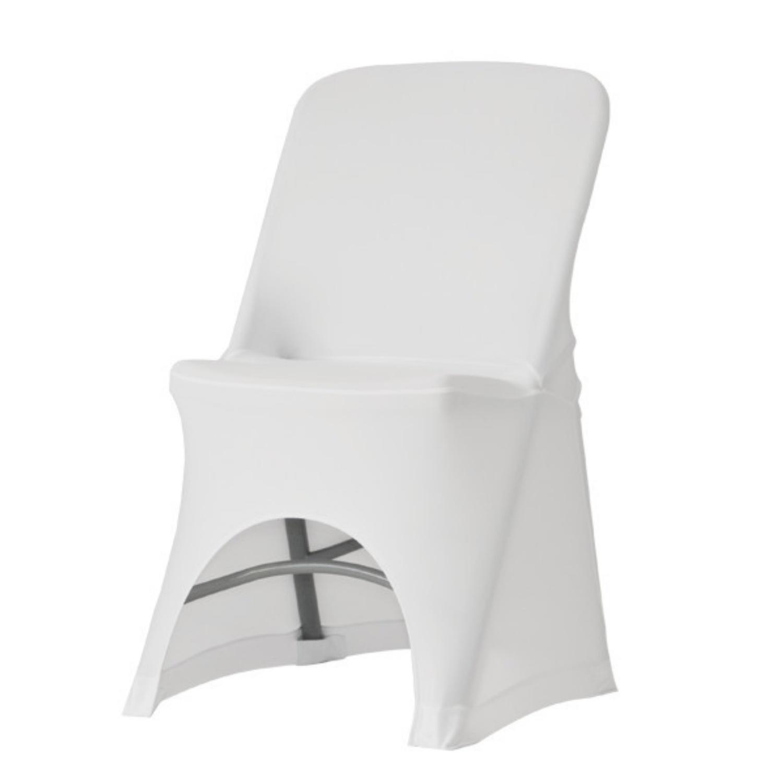 Potah na židli Alex bílý