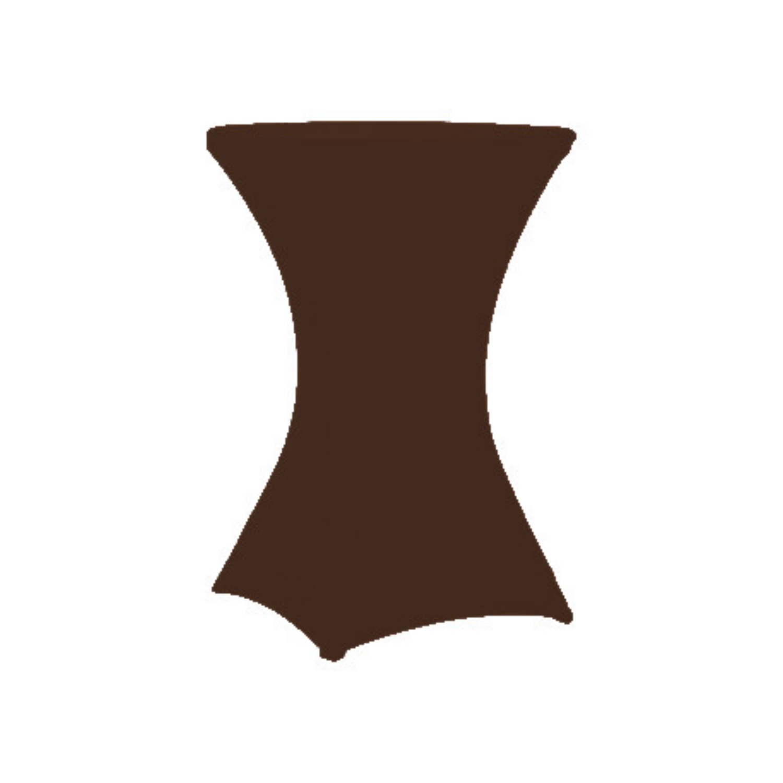 Potah na stůl TOP Coctail 80 čokoláda