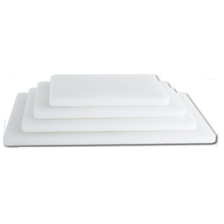 Deska bílá krájecí 250x150 mm, výška 10 mm