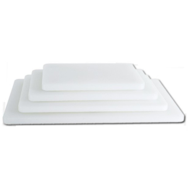 Deska bílá krájecí 500x340 mm, výška 20 mm