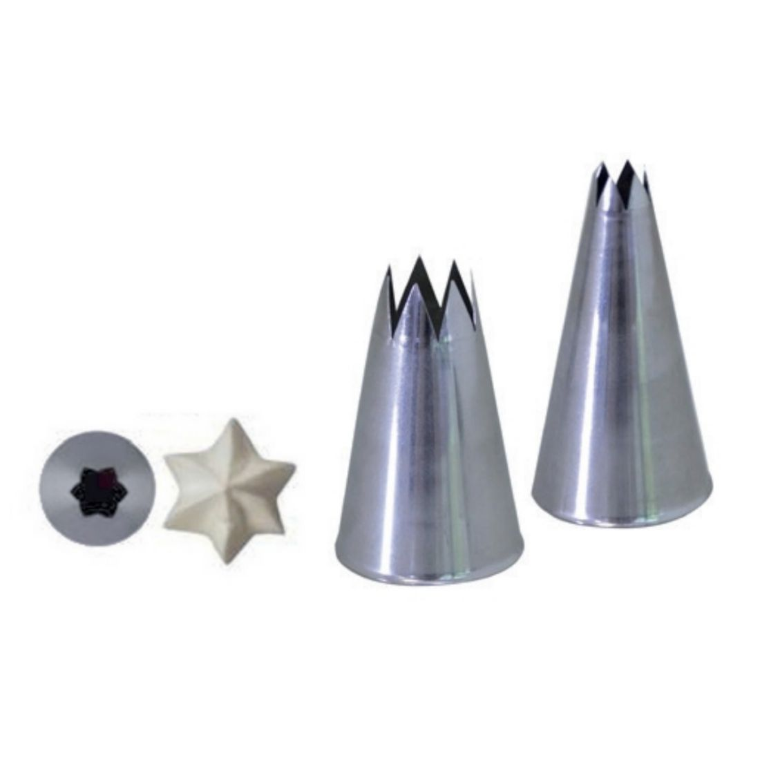Koncovka lisovaná hvězda pr. 5 mm