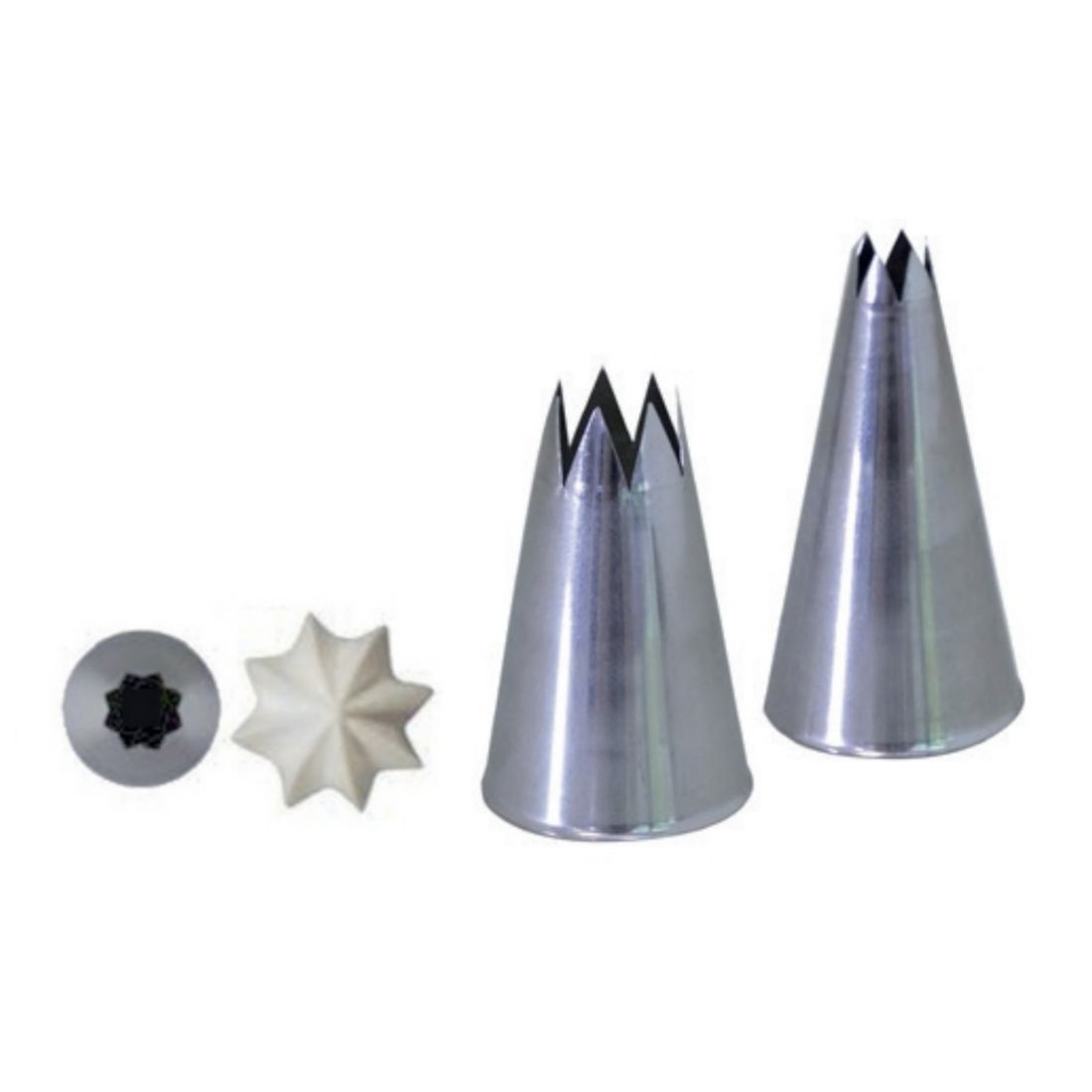 Koncovka lisovaná hvězda pr. 9 mm