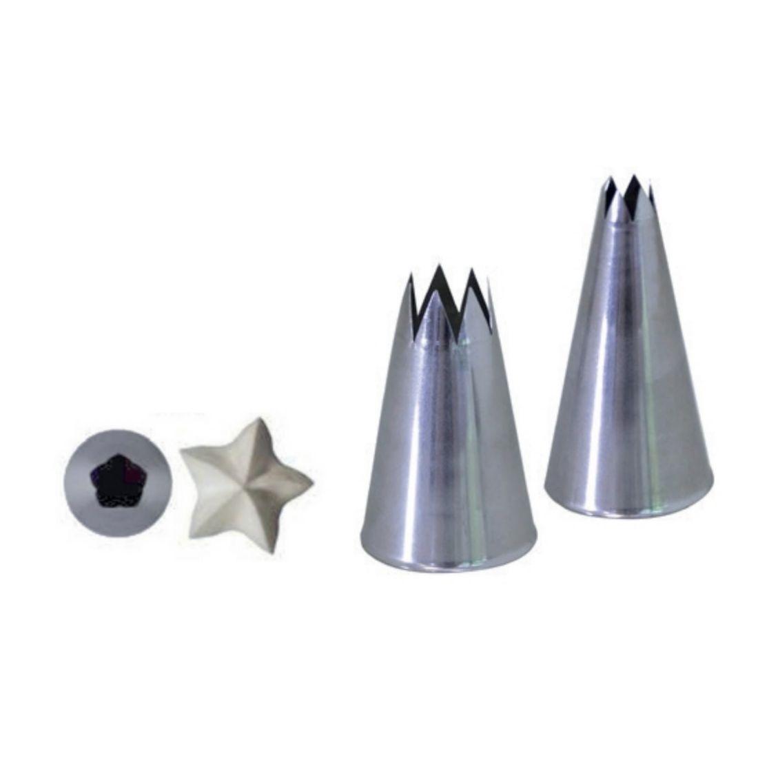 Koncovka lisovaná hvězda pr. 18 mm