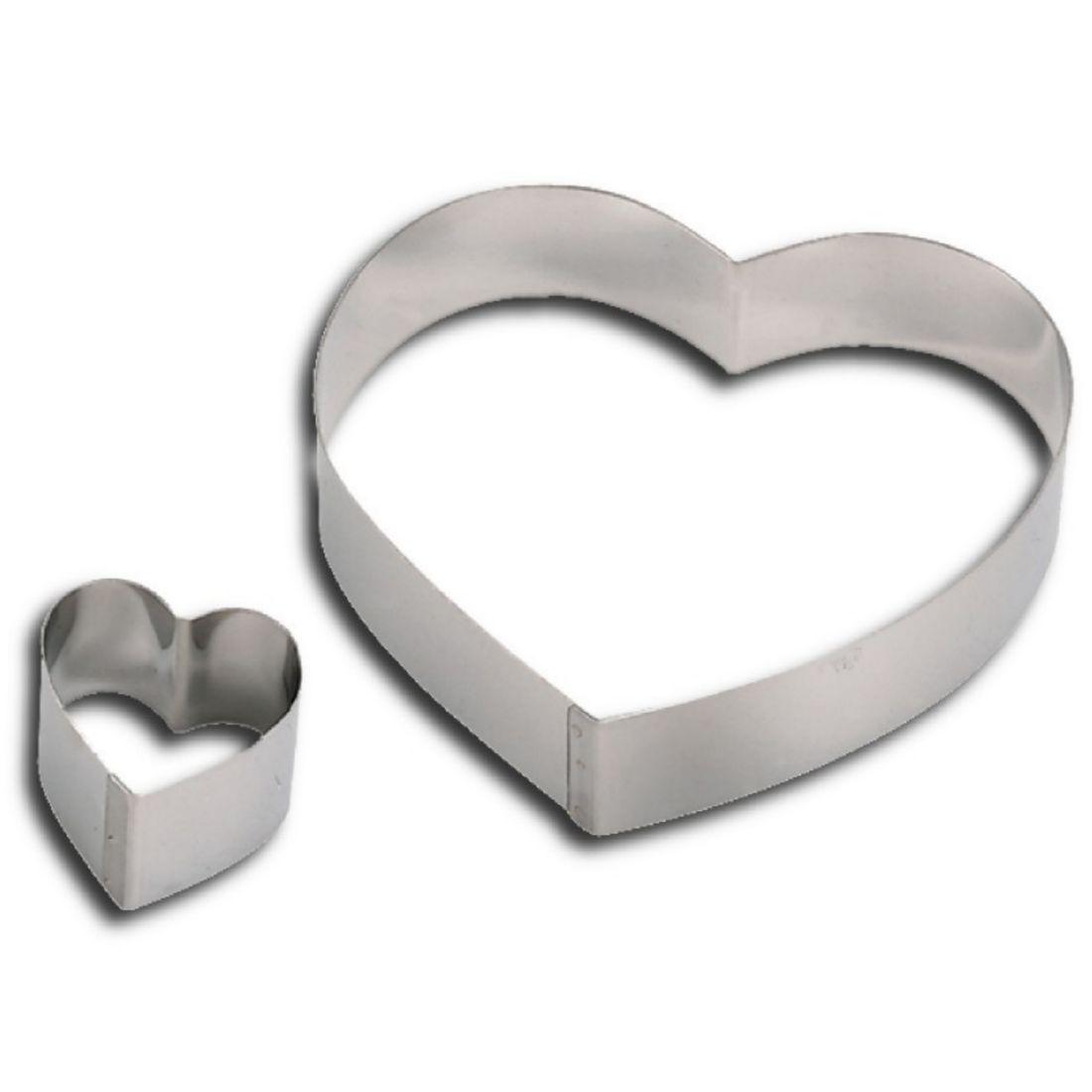 Forma srdcová 180 mm