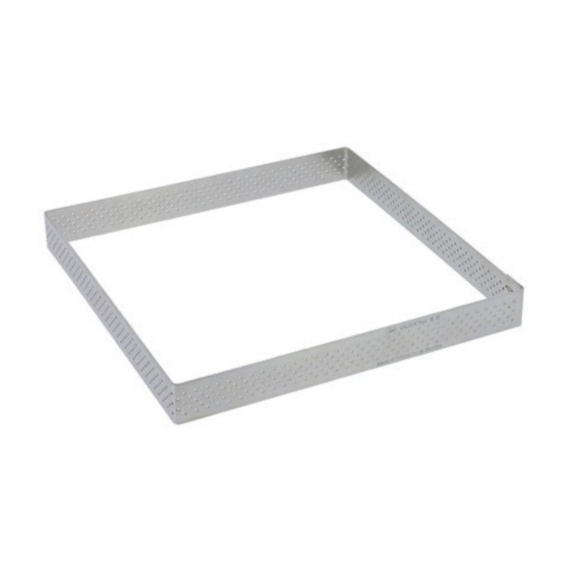 Forma čtvercová perforovaná šířka 15 cm
