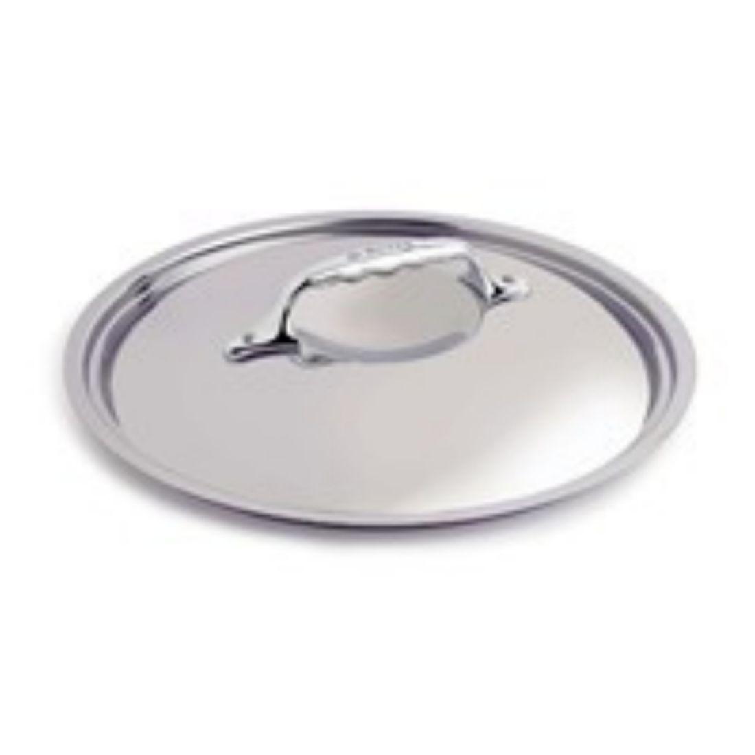 Poklice nerezová pro měděné nádobí, pr. 28 cm