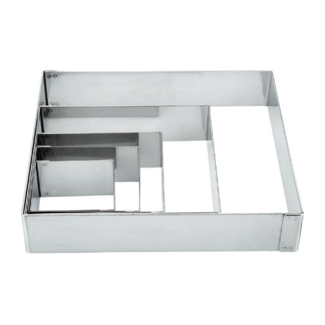 De Buyer Forma čtvercová 200 x 200 mm