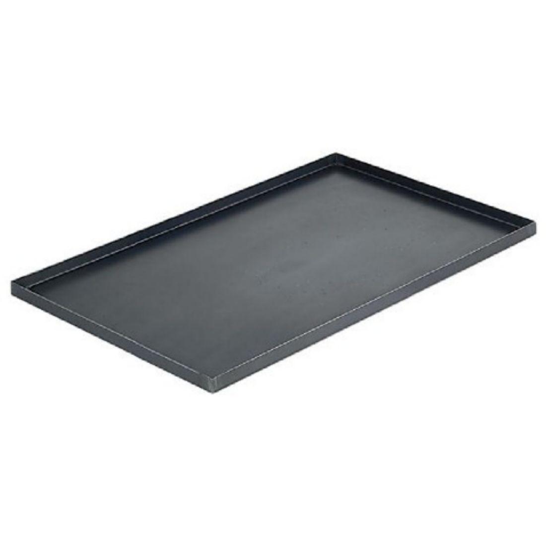 Plech na pečení - černá ocel 600 x 400 x 20 mm