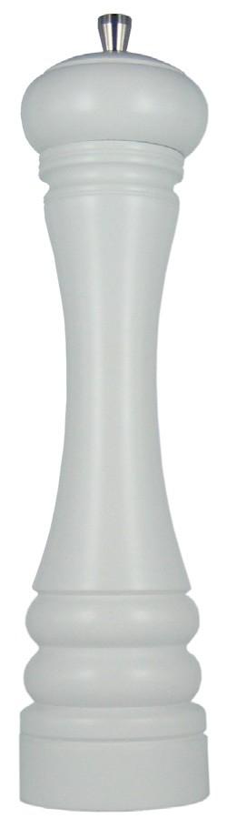 JAVA mlýnek na pepř, matný bílý, 30 cm