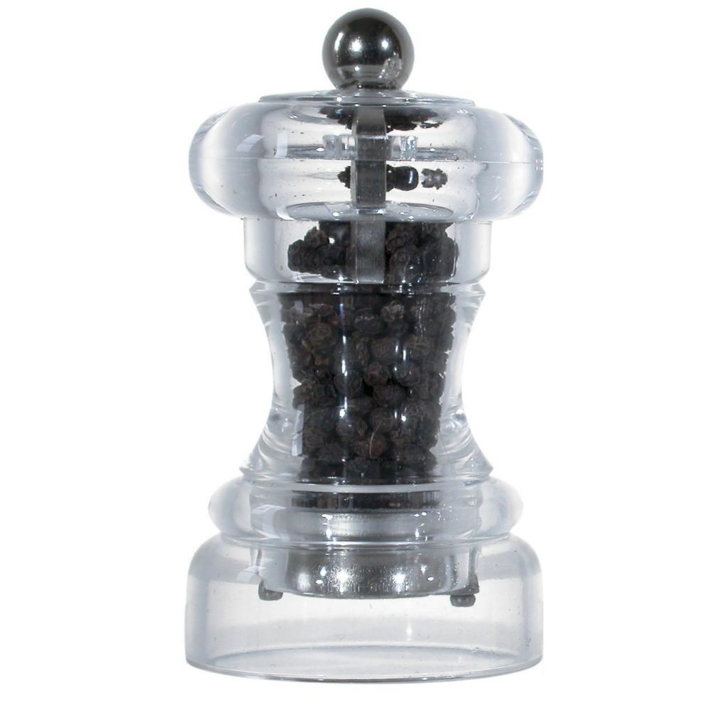 VIRA mlýnek na pepř, transparentní, 10 cm