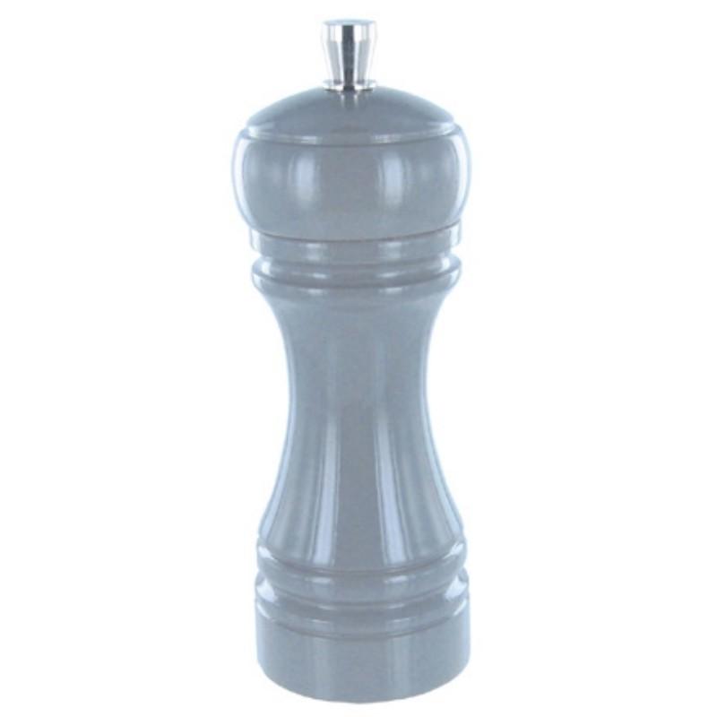 Java mlýnek na sůl, šedý, 14 cm