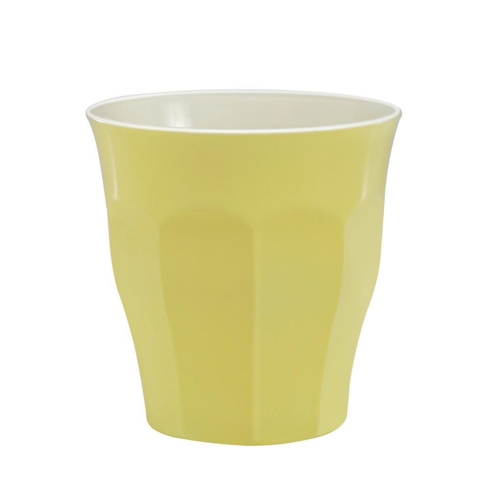 Sklenice duritka Pastel žlutá