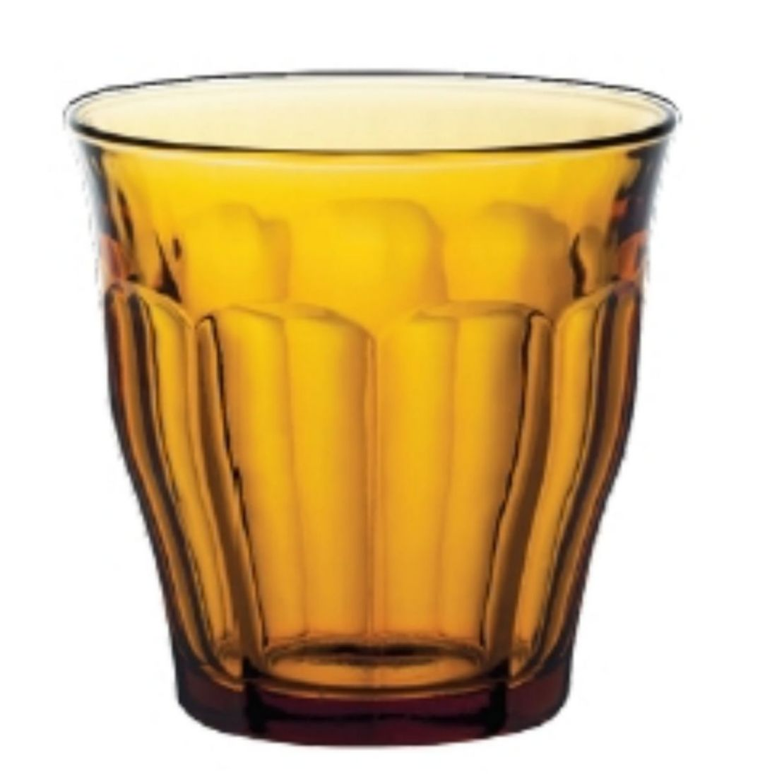 Sklenice Picardie 250 ml oranžová
