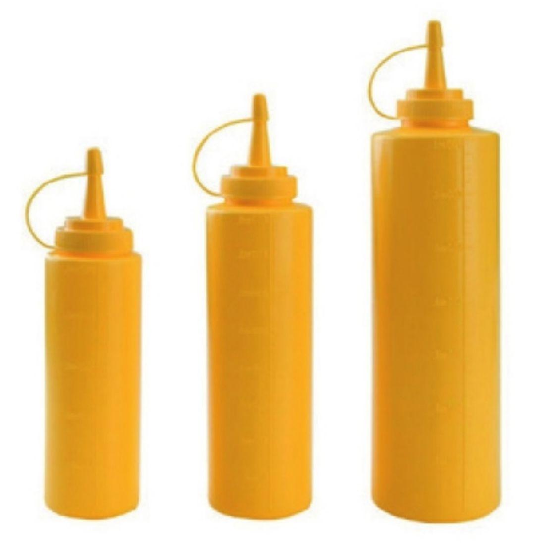 Dávkovač na omáčky žlutý 250 ml