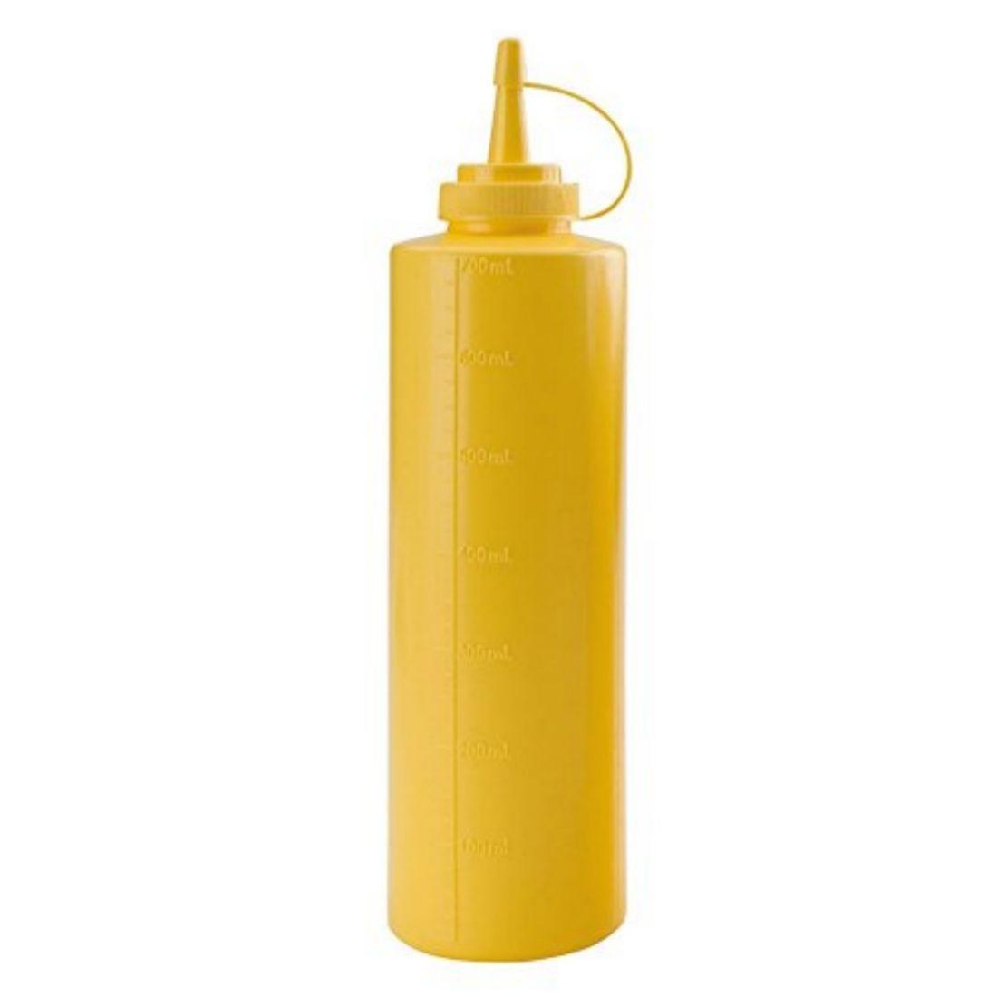 Dávkovač na omáčky žlutý 700 ml